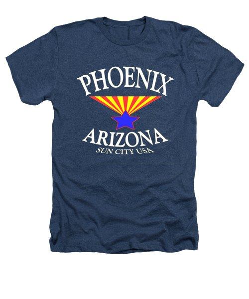 Phoenix Arizona Tshirt Design Heathers T-Shirt by Art America Online Gallery