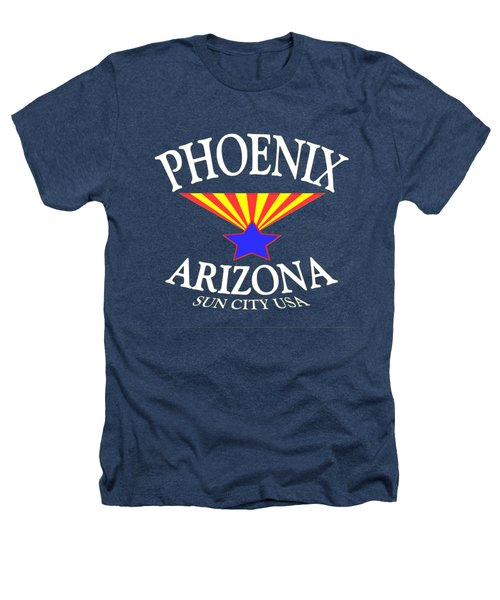 Phoenix Arizona Design Heathers T-Shirt
