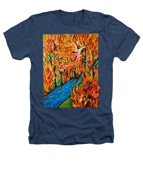 Phoenix Forest Fire Heathers T-Shirt