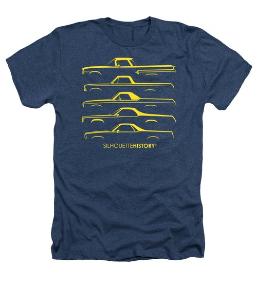 Pickupino Silhouettehistory Heathers T-Shirt by Gabor Vida