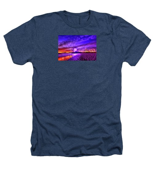 Pier Of Lights Heathers T-Shirt