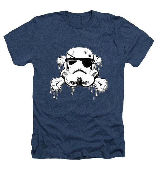 Pirate Trooper Heathers T-Shirt by Nicklas Gustafsson