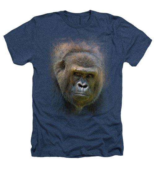 Portrait Of A Gorilla Heathers T-Shirt