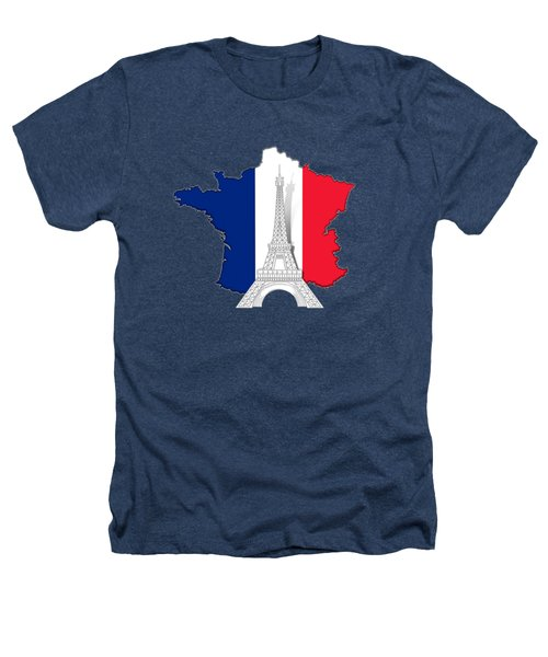 Pray For Paris Heathers T-Shirt by Bedros Awak
