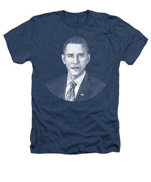 President Barack Obama Graphic Heathers T-Shirt