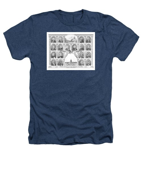 Presidents Of The United States 1776-1876 Heathers T-Shirt