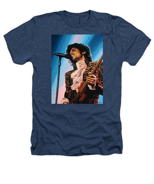 Prince Painting Heathers T-Shirt by Paul Meijering