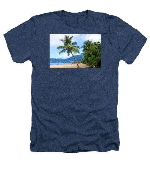 Phuket Patong Beach Heathers T-Shirt by Mark Ashkenazi