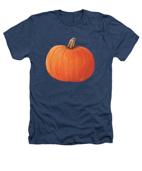 Pumpkin Heathers T-Shirt by Anastasiya Malakhova
