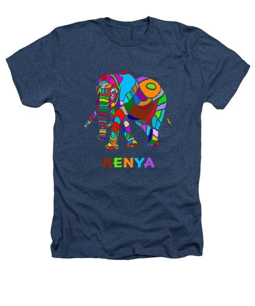 Rainbow Elephant Heathers T-Shirt