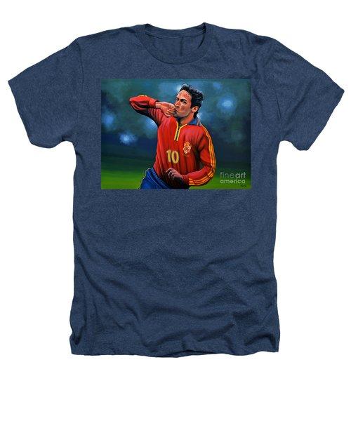 Raul Gonzalez Blanco Heathers T-Shirt by Paul Meijering