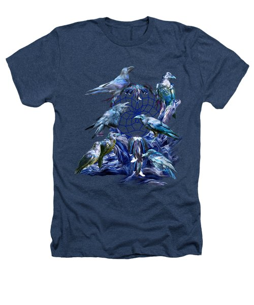 Raven Dreams Heathers T-Shirt by Carol Cavalaris