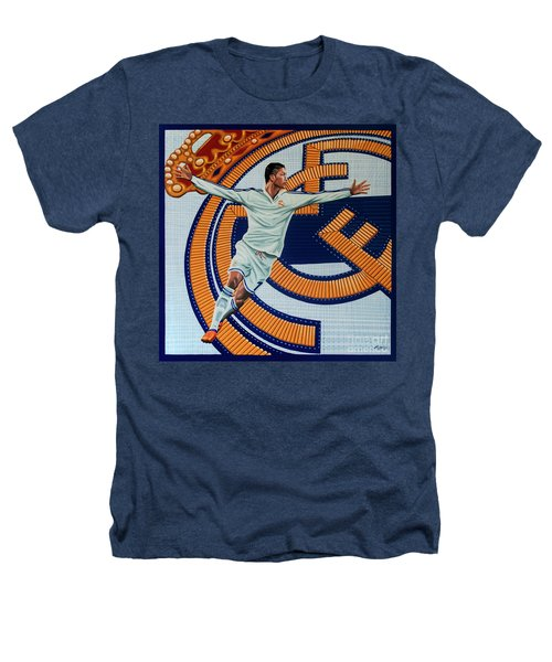 Real Madrid Painting Heathers T-Shirt by Paul Meijering