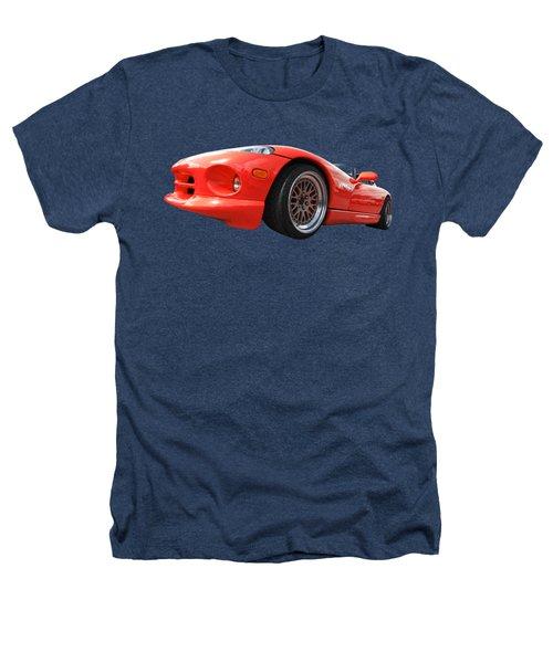 Red Viper Rt10 Heathers T-Shirt by Gill Billington
