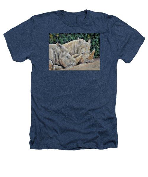 Rhinos Heathers T-Shirt by Sam Davis Johnson