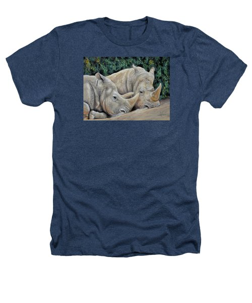 Rhinos Heathers T-Shirt