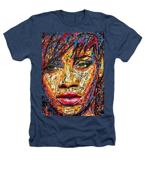 Rihanna Heathers T-Shirt by Angie Wright