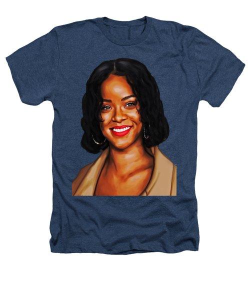 Robyn Rihanna Fenty Canvas  Heathers T-Shirt