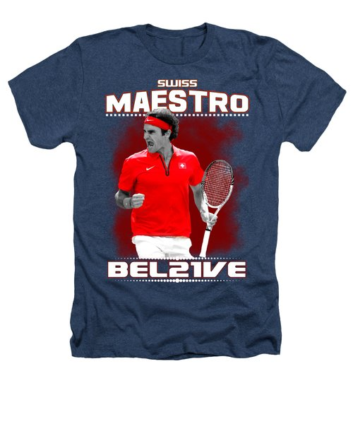 Roger Federer Maestro Heathers T-Shirt