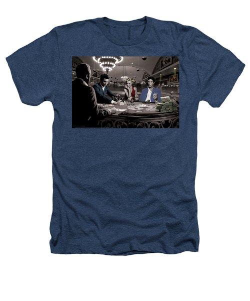 Royal Flush Heathers T-Shirt by Chris Consani