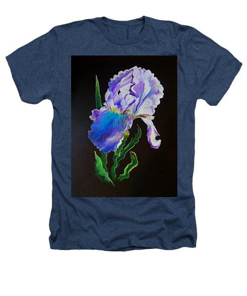 Ruffled Iris Heathers T-Shirt