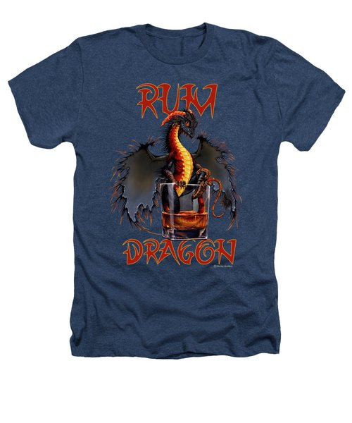 Rum Dragon Heathers T-Shirt