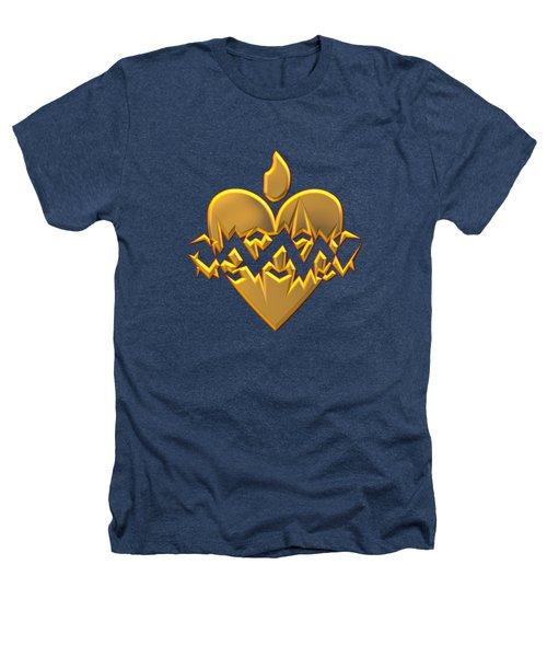 Sacred Heart Of Jesus Digital Art Heathers T-Shirt