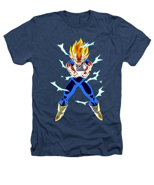 Saiyan Warriors Heathers T-Shirt by Opoble Opoble
