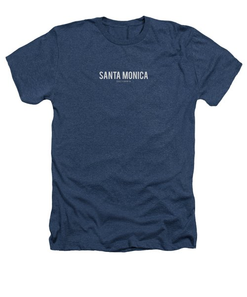 Santa Monica California Heathers T-Shirt by Sean McDunn