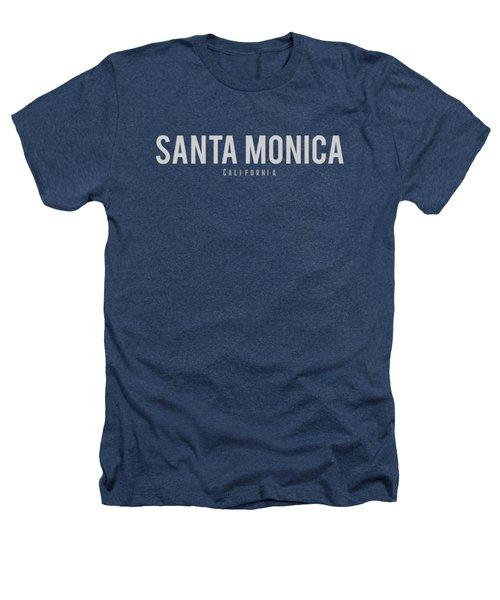 Santa Monica California Heathers T-Shirt