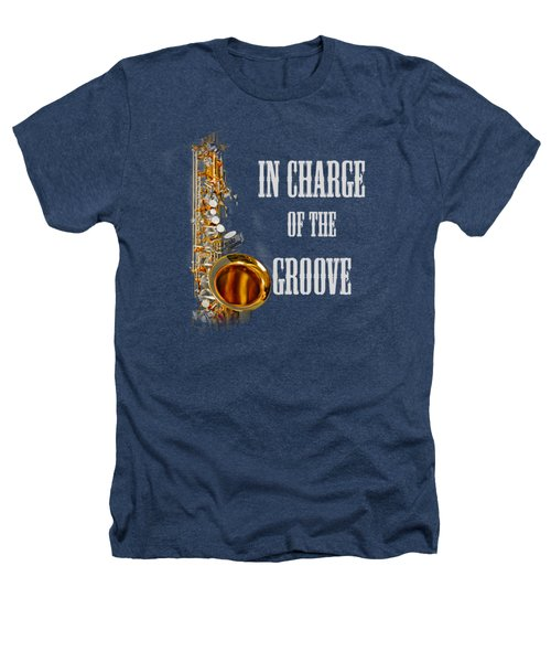 Saxophones In Charge Of The Groove 5531.02 Heathers T-Shirt