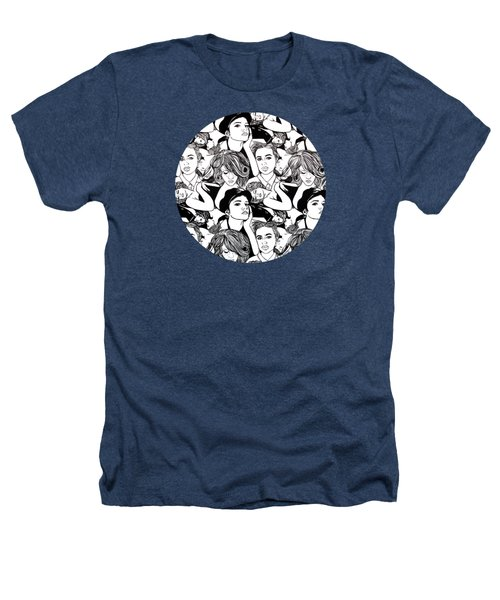 Seven Beauties Heathers T-Shirt