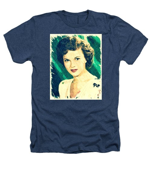 Shirley Temple By John Springfield Heathers T-Shirt by John Springfield
