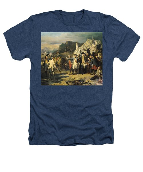 Siege Of Yorktown Heathers T-Shirt by Louis Charles Auguste  Couder
