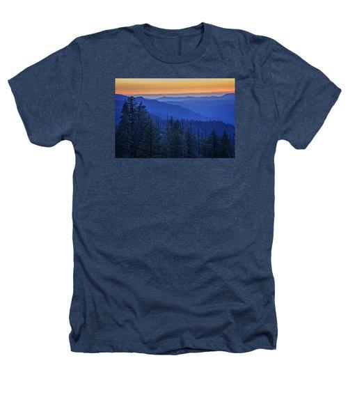 Sierra Fire Heathers T-Shirt by Rick Berk