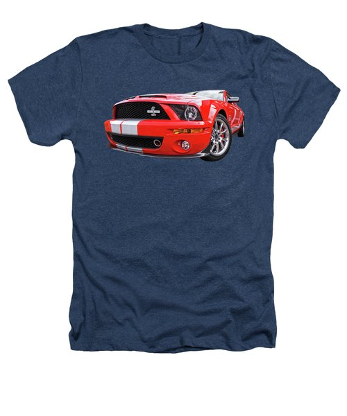 Smokin' Cobra Power - Shelby Kr Heathers T-Shirt by Gill Billington
