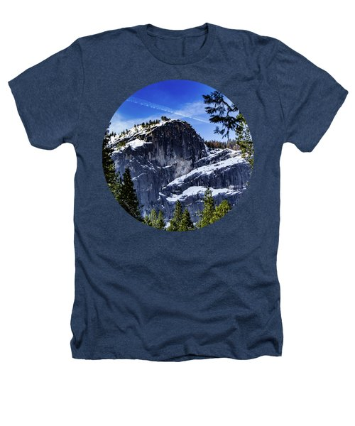 Snowy Sentinel Heathers T-Shirt