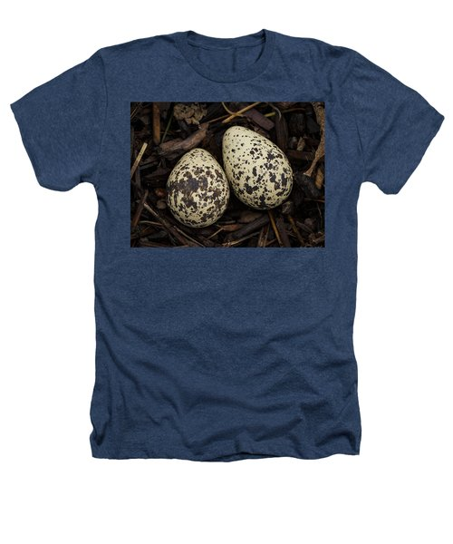 Speckled Killdeer Eggs By Jean Noren Heathers T-Shirt