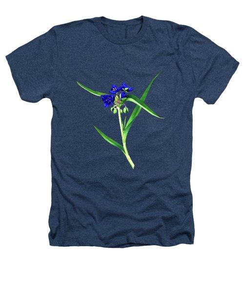 Spider Wort Heathers T-Shirt