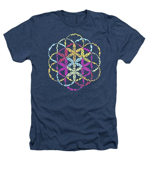 Spiral Of Color Heathers T-Shirt