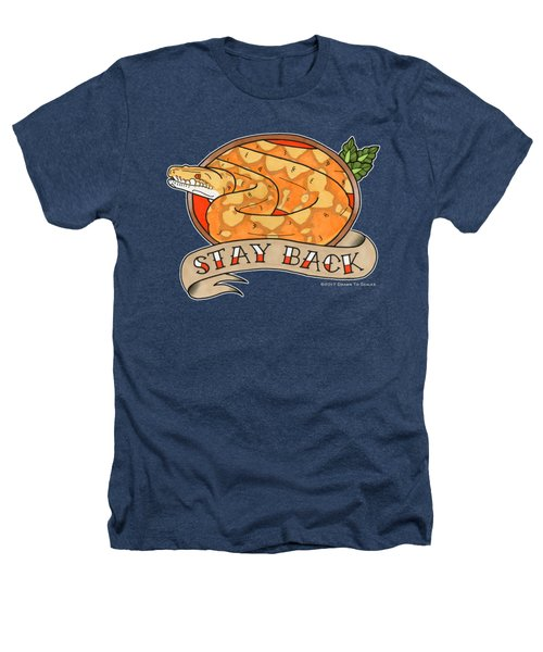 Stay Back Reticulated Python Heathers T-Shirt