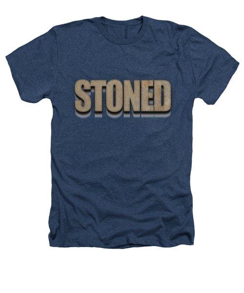 Stoned Tee Heathers T-Shirt by Edward Fielding