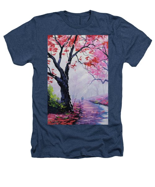 Stroll In The Mist Heathers T-Shirt