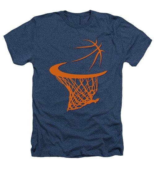Suns Basketball Hoop Heathers T-Shirt by Joe Hamilton