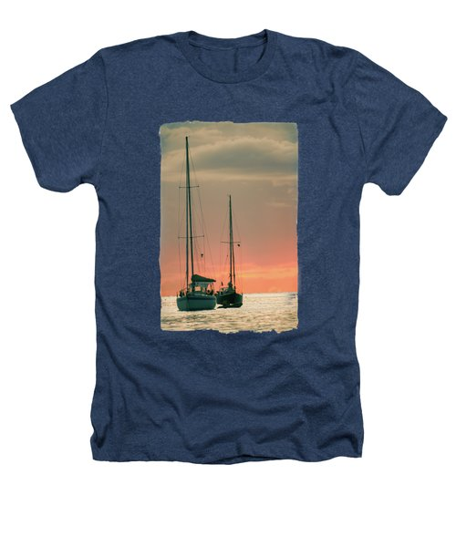 Sunset Yachts Heathers T-Shirt by Konstantin Sevostyanov