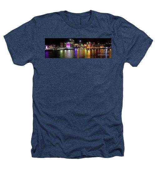 Sydney Skyline By Kaye Menner Heathers T-Shirt by Kaye Menner