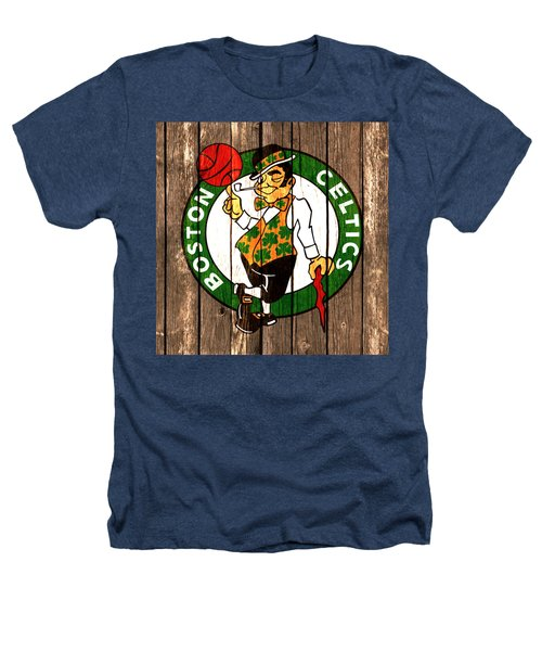 The Boston Celtics 2a Heathers T-Shirt by Brian Reaves