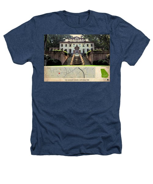 The Hunger Games Catching Fire Movie Location And Map Heathers T-Shirt