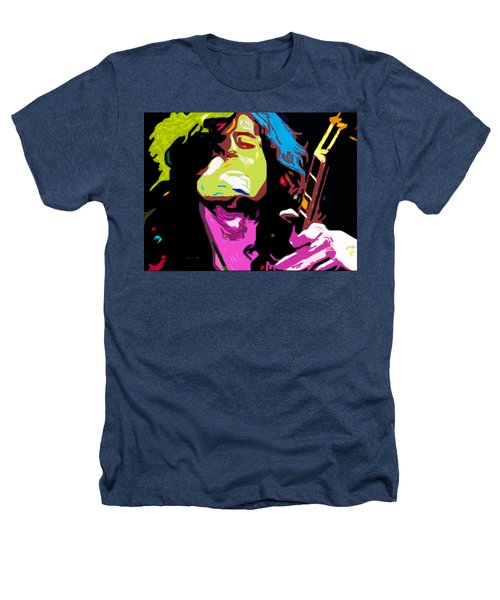 The Jimmy Page By Nixo Heathers T-Shirt by Nicholas Nixo