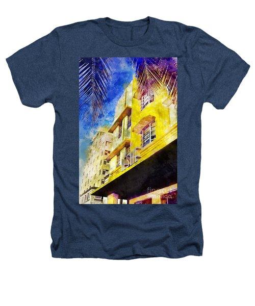 The Leslie Hotel South Beach Heathers T-Shirt by Jon Neidert